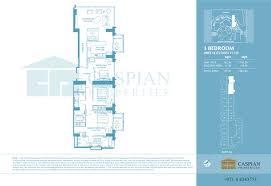 3 Floor Mall by The Address Dubai Marina Hotel Floor Plans