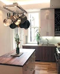 kitchen pan storage ideas hanging pot and pan rack kitchen pan storage ideas stylist small