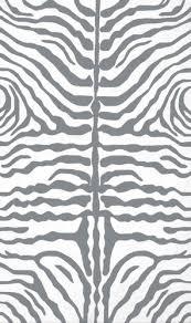 black white zebra rug at rug studio