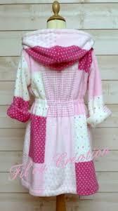 robe de chambre fille robe de chambre ou peignoir à capuche en mail peluche imprimé fille
