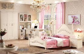 bedroom set with desk european princess wooden bedroom furniture set for kids children