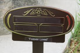 temporary grave markers memorial markers temporary grave markers funeral homes home