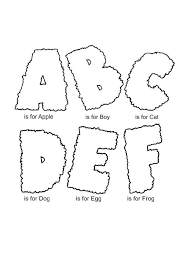 free abc coloring pages to print coloringstar