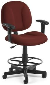 ofm counter height office drafting chair 105 dk