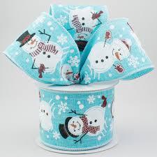 ribbon light 2 5 snowman ribbon light blue 10 yards rg0155114