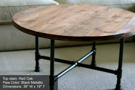 Building Reclaimed Wood Coffee Table by Diy Round Coffee Table