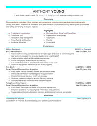 Office Assistant Resume Samples by How To Write A Resume With Resume Samples Resume Guide