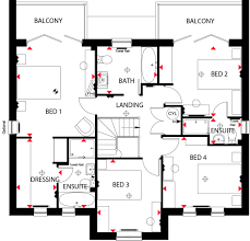 Easton Neston Floor Plan by 4 Bedroom Detached For Sale In Havant