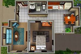 starter home floor plans mod the sims ledomus starter home plan 1 no cc