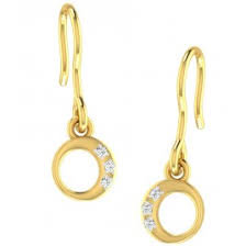 danglers earrings design drop earrings buy danglers in gold and diamond damor in