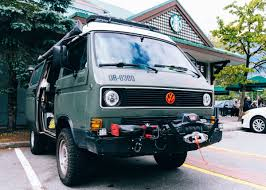 volkswagen westfalia syncro working remotely from the road in a vanagon on wand u0027rly