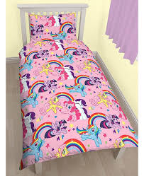 My Little Pony Bedroom My Little Pony Party Single Duvet Cover And Pillowcase Set
