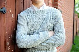 light blue cable knit sweater the turns and twists of aran sweater design