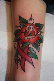 prof falcon traditional rose cancer ribbon tattoo sad clown city