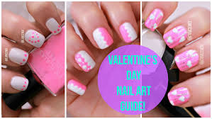 diy cute beginners nail art 21 valentines day pink designs