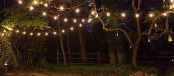 Garden Patio Lights How To Hang Patio Lights Yard Envy
