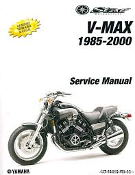 1985 2000 yamaha vmx1200 vmax motorcycle service manual