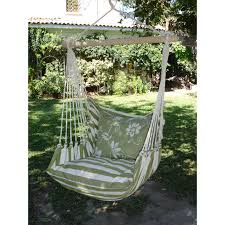 Chair Swing Brazilian Cotton Fabric Hammock Chair With Fringe Hayneedle