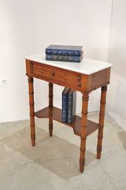 maison rutland narrow bedside cabinet old small table bamboo style antiques atlas