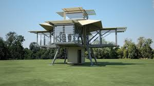prefab home that builds itself in minutes cnn style
