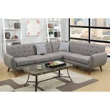 modern grey sectionals allmodern