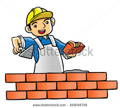 house builder house builder illustration stock illustration 169046759