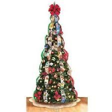 pre lighted led christmas trees pre lit christmas trees ebay