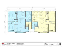 4 Plex Floor Plans Quadruplex Floor Plans House Plans