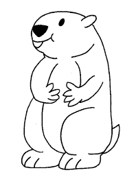 Beautiful Groundhog Coloring Pages 18 In Coloring Print With Groundhog Color Page