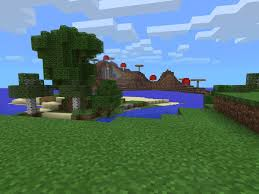 mushroom island with mooshrooms epic minecraft pe seeds
