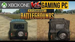 pubg xbox gameplay pubg xbox one vs pc gameplay comparison youtube