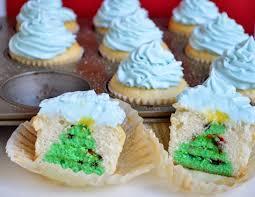 Christmas Treats Hidden Christmas Tree Cupcakes Week 3 Of The 12 Weeks Of