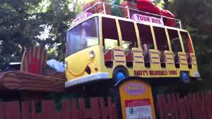 Six Flags Bus Schedule Six Flags Bus Ride Youtube