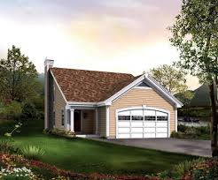 apartments small house with garage small front porches ranch