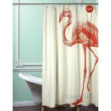 Flamingo Shower Curtains Flamingo Shower Curtain L Jpg