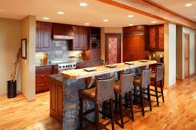 Kitchens With Bars And Islands 52 Enticing Kitchens With Light And Honey Wood Floors Pictures