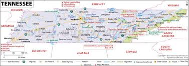 map showing time zones in usa tennessee city map my