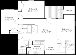 apartment floor plans with dimensions glade creek roanoke va apartments floor plans and ratesglade