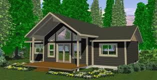 cabin designs floor plan garden cottage f one level with loft cabin designs