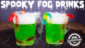 Halloween Appetizers For Kids Party by Spooky Fog Drinks For A Halloween Party Youtube