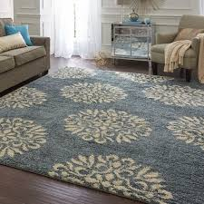Blue Area Rugs 8 X 10 Mohawk Home Bay Blue Huxley Exploded Medallions Area Rug 8 U0027 X 10