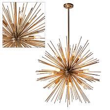 Sputnik Ceiling Light Sputnik Bronzed Gold Pendant