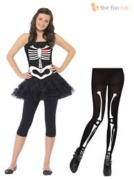 young girls halloween costumes age 10 14 teen girls skeleton tutu costume tights halloween