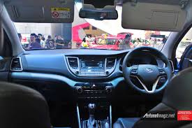 hyundai tucson 2016 all new hyundai tucson indonesia dashboard view autonetmagz