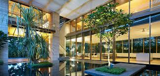 home courtyard zen courtyard contemporary home in singapore inspired by the