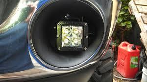 2008 dodge ram 1500 led fog lights cjc off road 2003 2009 dodge ram fog light led brackets