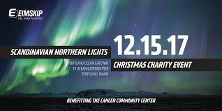 eimskip scandinavian northern lights christmas charity event