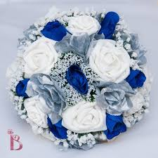 wedding flowers royal blue blue and silver wedding flowersroyal blue and silver wedding