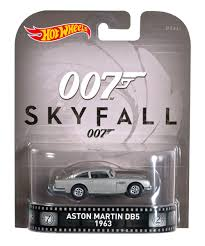 james bond 007 wheels collectors aston martin db5 1963 1 64