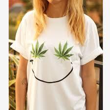 weed smiley t shirt shirt tee unisex men women